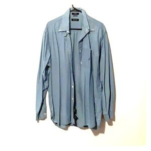 Nautica button up shirt lighter blue color